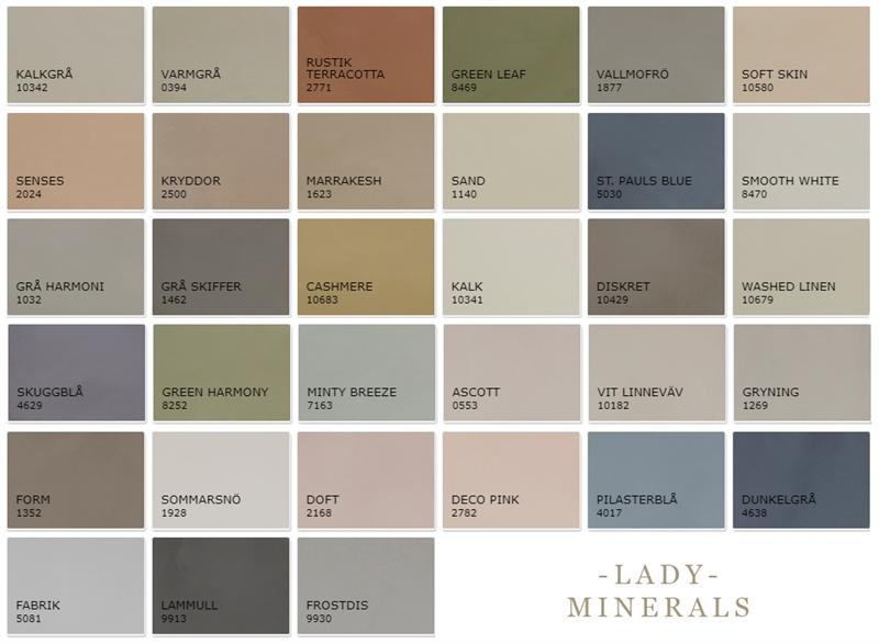 Lady minerals kalkfärg pris