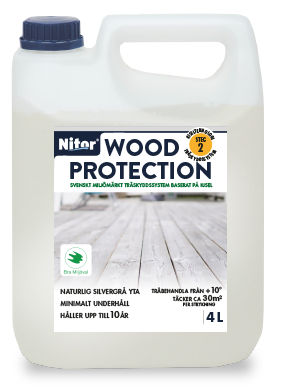Nitor Wood Protection 4 liter